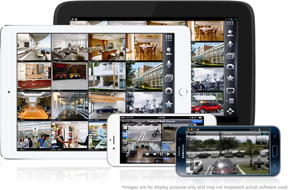 CCTV on Mobile Devices